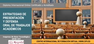 Workshop Online Certificado y Acreditado: Estrategias de presentación y defensa oral de trabajos académicos.