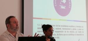 """El Municipio de Alájar acoge el Coloquio """"Otro Mundo es Posible"""", centrado en los Objetivos del Buen Vivir propuestos por la Universidad de Huelva"""