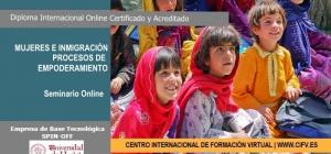Seminario Online Certificado y Acreditado: Mujer e Inmigración. Procesos de Empoderamiento.