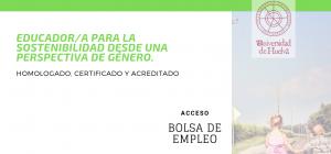 Curso Internacional Online Certificado y Acreditado de Educador/a para la Sostenibilidad desde una Perspectiva de Género