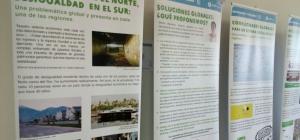 El Punto de Encuentro Solidario y de Participación Social de la Facultad de Trabajo Social (UHU) colabora en la campaña informativa Desigualdad-Fiscalidad de Oxfam Intermón.
