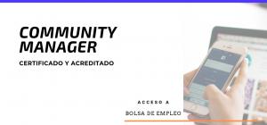 Curso Internacional Online Certificado y Acreditado de Community Manager