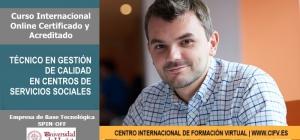 Curso Internacional Online: Técnico/a en Gestión de Calidad en Centros de Servicios Sociales.